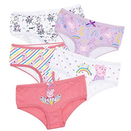 Peppa Pig Peppa Wutz Unterhosen, Unterwäsche Mädchen, Top-Qualität...