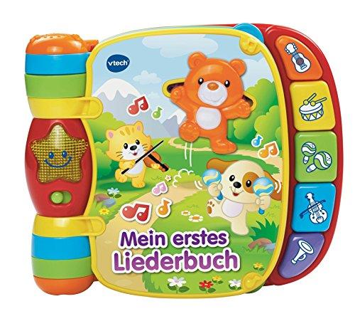 Vtech 80-166704 Baby 80-166704-Babyspielzeug-Mein Erstes Liederbuch,...