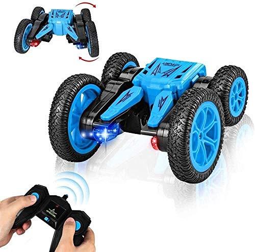 wangch 2.4Ghz Rotating RC Stunt Cars 360 Grad Flips Car RC Cars Buggy Racing Fahrzeug RC Off Road Fahrzeuge...
