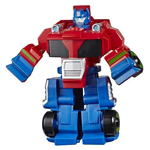 Transformers Playskool Heroes Rescue Bots Academy Optimus Prime...