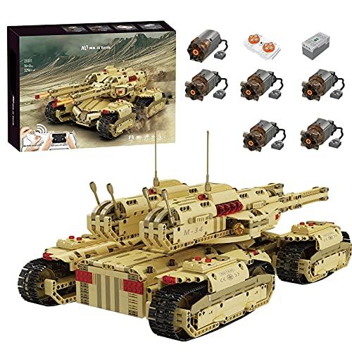xSuper Technik Ferngesteuerter Panzer Set, Mould King 20011, 3296...