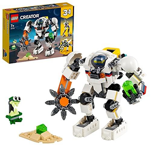 LEGO 31115 Creator 3-In-1 Weltraum-Mech Spielzeug mit Roboter und...