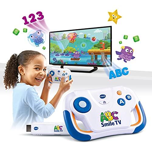 Vtech 80-613264 ABC Smile TV Spielkonsole, Mehrfarbig