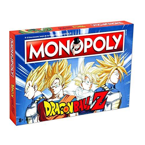 DRAGON BALL - Monopoly Z Drago Ball Set, Mehrfarbig (Eleven Force...