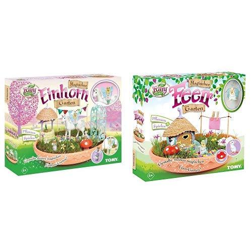 TOMY My Fairy Garden Spielzeugset - Magischer Einhorn-Garten &...