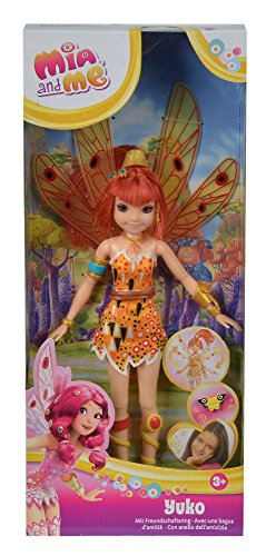 Simba 109480090 – Mia and Me neue Puppe Yuko mit Glasaugen