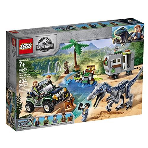 LEGO 75935 Jurassic World Baryonyx' Kräftemessen: die Schatzsuche,...