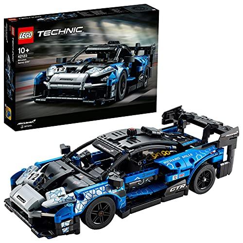 LEGO 42123 Technic McLaren Senna GTR Rennsportwagen, Fahrzeug Bausatz,...