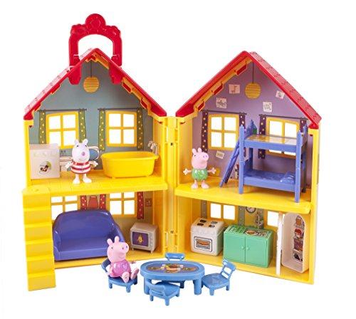Jazwares 92620 - Peppa Wutz Peppa's Familienhaus, Spielset mit...