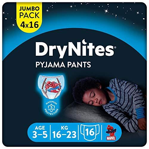 DryNites saugfähige Nachtwindeln bei Bettnässen, Für...
