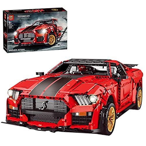 Hedi Technik Sportwagen für Ford Mustang Shelby GT500 , Rot Technik...