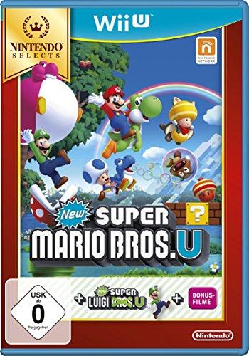 New Super Mario Bros. U + New Super Luigi U - Nintendo Selects - [Wii...