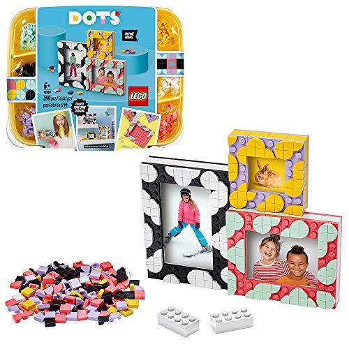 LEGO 41914 DOTS 3 Bilderrahmen Set mit bunten Steinchen,...