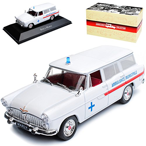 Atlas Simca Vedette Kombi Marly Ambulance Krankenwagen Weiss 1954-1966...