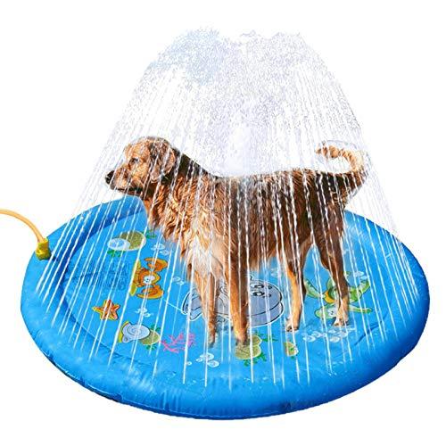 ampusanal 96cm Splash Sprinkler Pad Wasser Spielmatte Sprinkler...