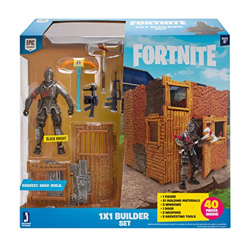 FORTNITE FNT0048 FORTNITE-1x1 Builder Set mit Spielfigur Black Knight...
