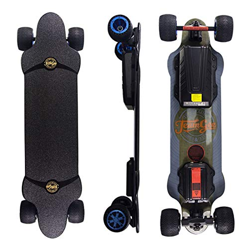 Teamgee H20T Elektro Skateboard 96.5cm mit Drahtloser Bluetooth...