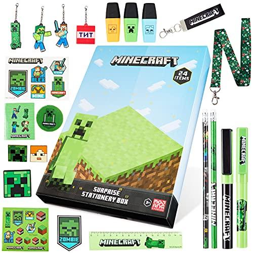 Minecraft Adventskalender 2021, Schreibwaren Adventskalender Kinder,...
