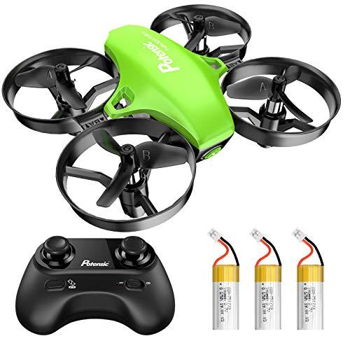 Potensic Mini Drohne für Kinder und Anfänger mit 3 Akkus, RC...