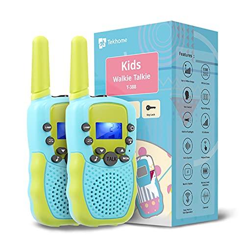 TekHome Walkie Talkie Kinder, Spielzeug ab 3 4 5 6 Jahren...