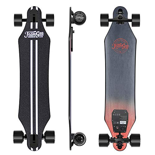 Teamgee H5 - Elektro Longboard Skateboard mit Fernbedienung, Ultra...