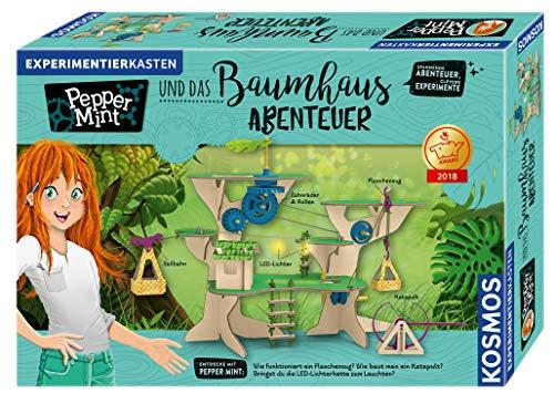 KOSMOS 626020 Pepper Mint und das Baumhaus-Abenteuer, Erforsche mit Pepper spielerisch die Grundlagen der...