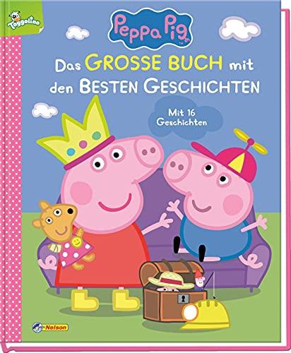 Peppa Pig: Das große Buch mit den besten Geschichten: Mit 16...