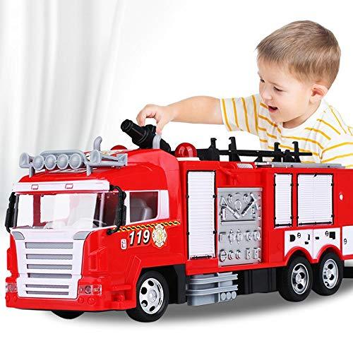 Darenbp RC Spielzeug für Jungen Fernbedienung Feuerwehrauto Polizei...