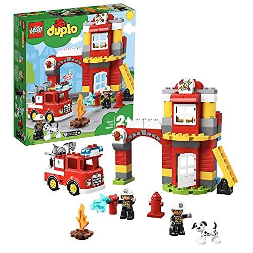LEGO 10903 DUPLO Feuerwehrwache mit Feuerwehrauto und...
