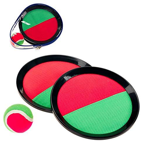 Smart Planet® Klettball-Fangspiel - Catch Ball 2 x Fangscheibe Ø ca....