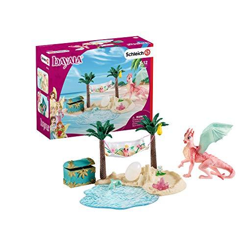 Schleich 42436 bayala Spielset - Dracheninsel mit Schatz, Spielzeug ab...