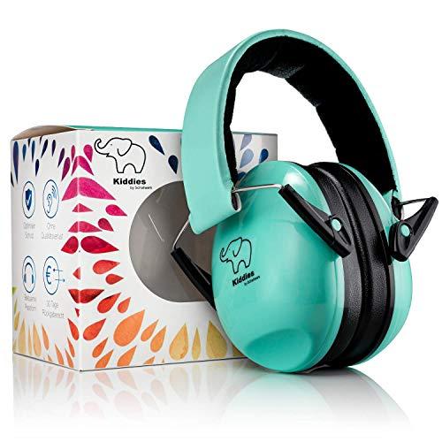 SCHALLWERK ® – Kapselgehörschutz Kiddies – Gehörschutz für Kinder – Dämpft Lärm & Schützt...