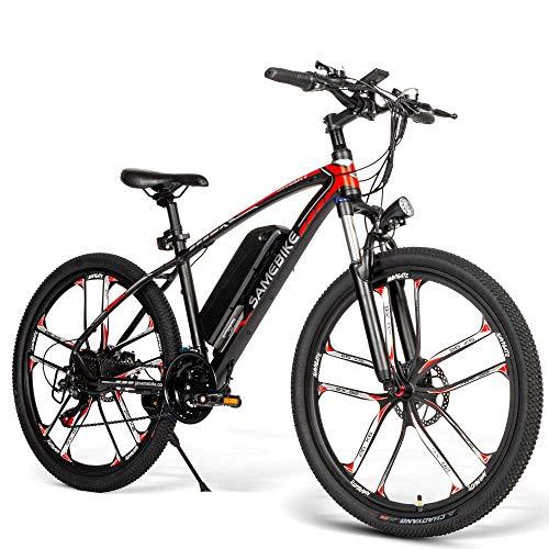 Elektrofahrrad E-Bike 26 Zoll Mountainbike, Shimano 21 Speed 7 Gänge...