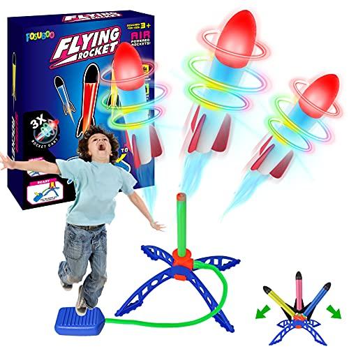 FOSUBOO Spielzeug für Draußen Rakete Spiele für Kinder Outdoor...
