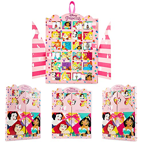 Disney Prinzessinnen Adventskalender 2021 Mädchen, Adventskalender...