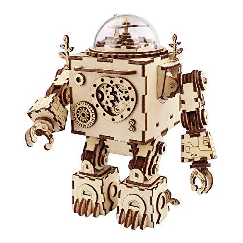 Think Gizmos Musikroboterset TG714 - Bauen Sie Ihren eigenen Roboter...