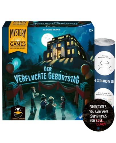Mystery Games: Der verfluchte Geburtstag – kooperatives...
