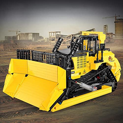 Xshion Technik Bulldozer Ferngesteuert mit Power Functions Set,...