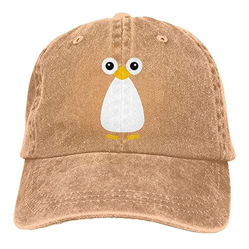 Dyfcnaiehrgrf Süße Pinguin Unisex Baseball Cap Wiederverwendbar für...