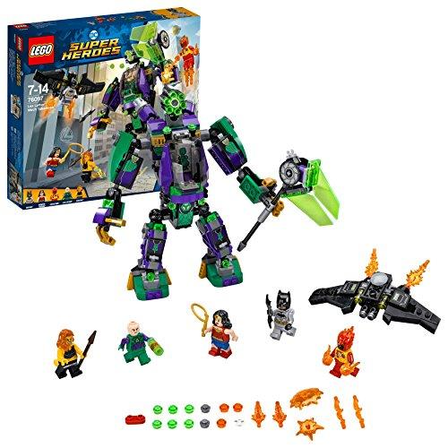 LEGO DC Super Heroes Lex Luthor Mech 76097 Superheldenspielzeug für Jungen und Mädchen