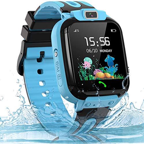 Smartwatch Kinder Uhr Telefon Kinder Smartwatch mit LBS...