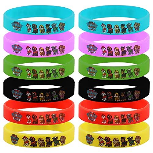 Gxhong Kinder Silikon Armband, 12 Stück Dog Patrol Spielzeug...