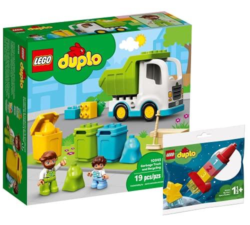Collectix Lego Set - DUPLO Müllabfuhr und Wertstoffhof 10945 + DUPLO...