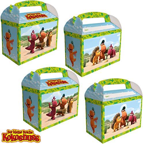 DH-Konzept: 8 Geschenkboxen * DER KLEINE Drache Kokosnuss * für...