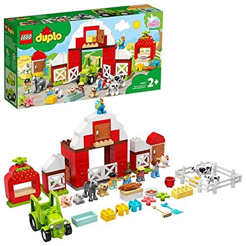LEGO 10952 DUPLO Scheune, Traktor und Tierpflege Kleinkinder Spielzeug...