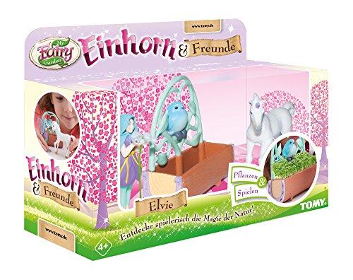 Einhorn & Freunde, das TOMY My Fairy Garden Erweiterungsset mit Kressesamen zum selber Pflanzen & Spielen....