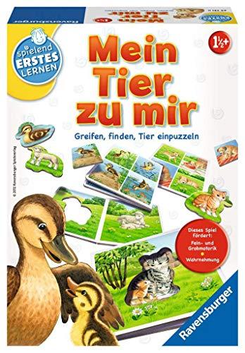 Ravensburger 24731 - Mein Tier zu mir - Puzzelspiel für die Kleinen -...