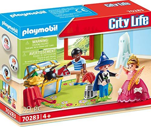 PLAYMOBIL City Life 70283 Kinder mit Verkleidungskiste, Ab 4 Jahren