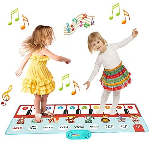 Angusiasm Kinder Klaviermatte, Musik Tanzmatte Bodentastatur...