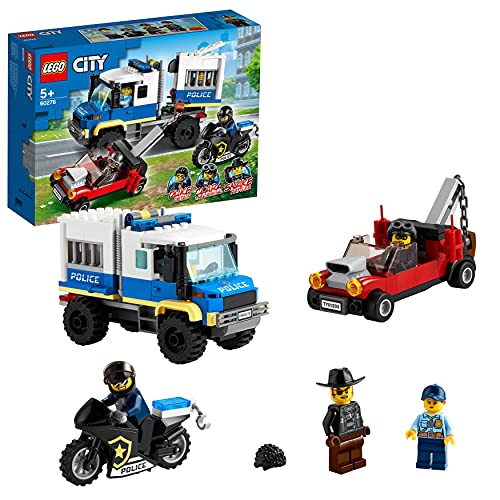 LEGO 60276 City Polizei Gefangenentransporter Spielzeug,...